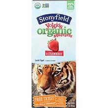 Stonyfield Farm YoKid Organic Strawberry Yogurt Squeezer 2 Ounce