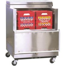 Norlake Standard Stainless Steel Open Front Milk Cooler 44 x 35 x 34 inch
