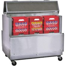 Norlake Standard Stainless Steel Dual Access Milk Cooler 44 x 49 x 35 inch