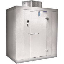 Norlake Blank Kold Locker Floorless Walk Ins 8 x 10 x 7.4 feet