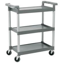 Open Design Bussing Cart 16 x 24 inch Shelf