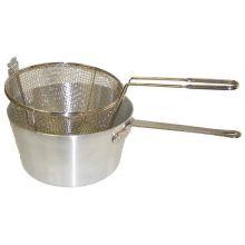 Round Fryer Pot Set 10 Quart