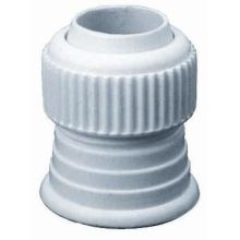 White Delrin Coupling