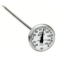 Comark Bi-Therm Pocket Dial Food Thermometer 1.75 inch - (-40 To 160) Degree Fahrenheit