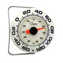 Bi Metals Indoor and Outdoor Wall Thermometer with Bracket
