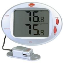 Digital Indoor Outdoor Wall Thermometer with Remote Sensor