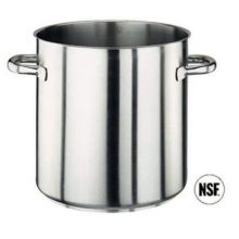 World Cuisine 344624 Stainless Steel Stock Pot 9 Qts. H 9 1/2 In Dia 9 1/2 In