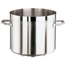 Stainless Steel Grand Gourmet Low Stock Pot No Lid