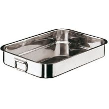 Stainless Steel Heavy Rectangular Roasting Pan