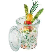 Mini Glass Jar with Glass Lid