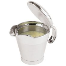 Stainless Steel Insulated Gravy Boat with Spout