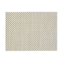 Plastic Gray and Beige Placemat Set