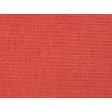Plastic Red Placemat Set