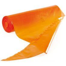 Orange Disposable Pastry Bag Set