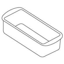 World Cuisine Paderno Rectangular Non-Stick Silicone Mold 11 inch Length