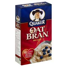 Quaker Hot Cereal Oat Bran 16 Ounce