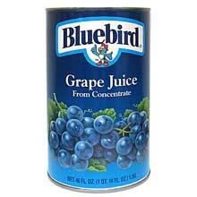 Bluebird Grape Juice