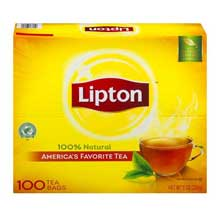 Lipton Black Traditional Blend Hot Tea 100 count