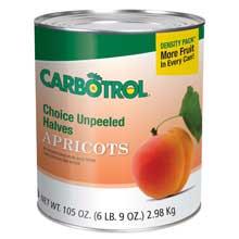 Carbotrol Apricot Sauce 1/2