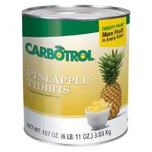 Carbotrol Pineapple Tidbits
