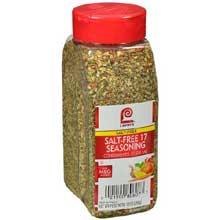 Lawrys Salt Free 17 Seasoning - 10 oz. container