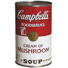 Campbells Condensed Cream Mushroom Soup - 50 oz. can