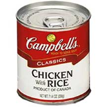 Campbells Chicken and Rice Soup