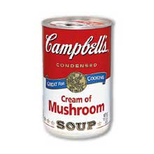 Campbells Healthy Request Condensed Cream of Mushroom Soup - 10.75 oz. can