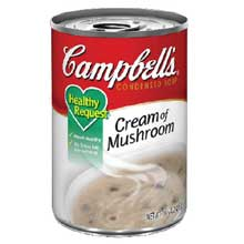 Campbells Condensed Healthy Request Cream Of Mushroom Soup