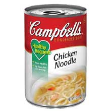 Campbells Healthy Request Chicken Noodle Soup