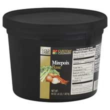 Custom Culinary Gold Label Mirepoix Base