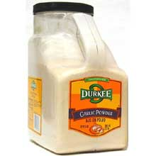 Durkee Garlic Powder - 6 lb. container
