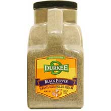 Durkee Regular Ground Black Pepper - 5 lb. container