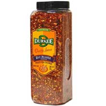 Durkee Crushed Red Pepper - 12 oz. container