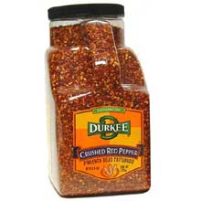 Durkee Crushed Red Pepper - 3.75 lb. container