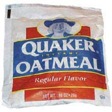 Instant Regular Oatmeal Loose Pack