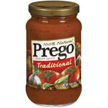 Prego Spaghetti Sauce