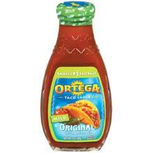 Ortega Taco Sauce Mild