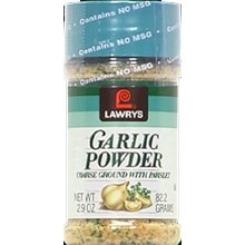 Lawrys Garlic Powder with Parsley, 2.9 oz. jar
