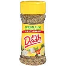 Mrs.Dash Original Blend Seasoning - 2.5 oz. jar