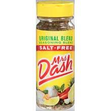 Mrs.Dash Original Blend Seasoning - 6.75 oz. ja