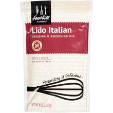 Lido Italian Vinaigrette Dressing and Seasoning Mix 8 Ounce