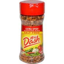 Mrs. Dash Extra Spicy Seasoning Blend - 2.5 oz. jar