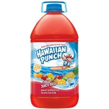Hawaiian Punch Fruit Juicy Red Plastic Juice