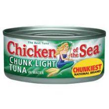 Chicken Of The Sea Light Tuna