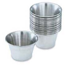Cup Sauce Stainless Steel 3 Ounce
