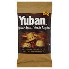 Yuban Ground Coffee - 2.5 oz. pouch