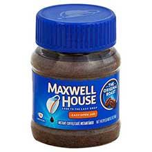 Maxwell House Instant Coffee - 2 oz. jar