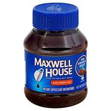 Maxwell House Instant Coffee - 4 oz. jar