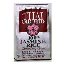 Rice Thai Orchid Jasmine 25 Pound